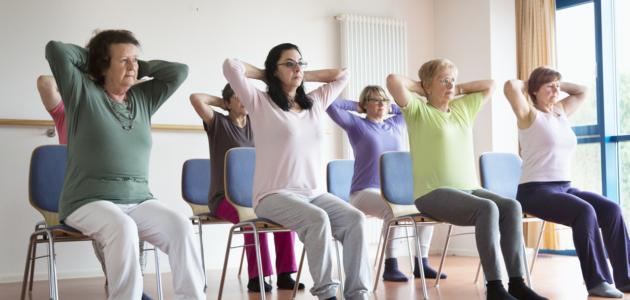 Osteoporose-Gymnastik